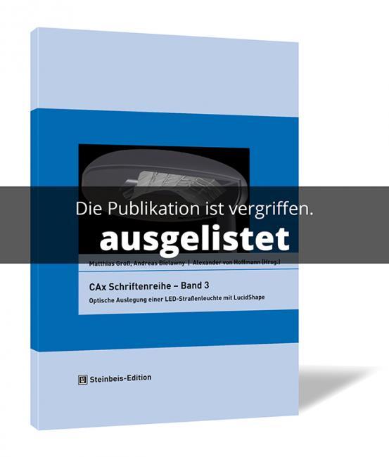 CAx Schriftenreihe – Band 3