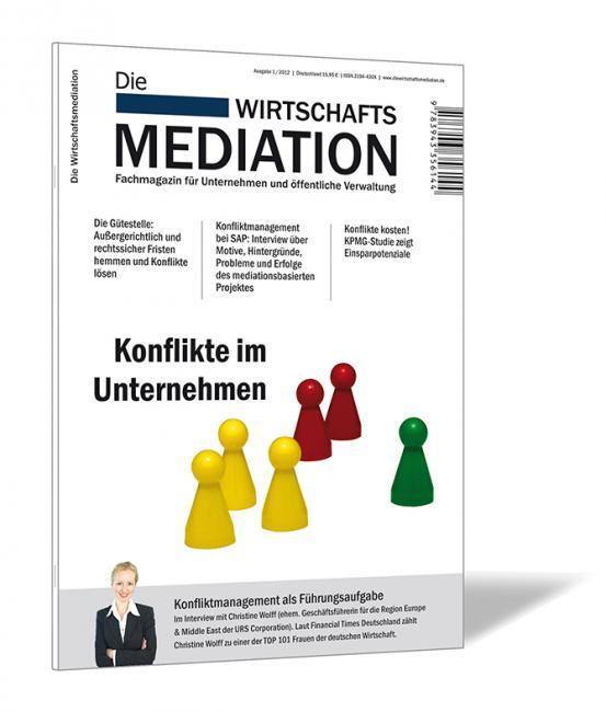 Die Wirtschaftsmediation – 2012/01