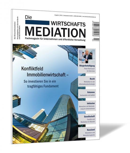 Die Wirtschaftsmediation – 2013/03