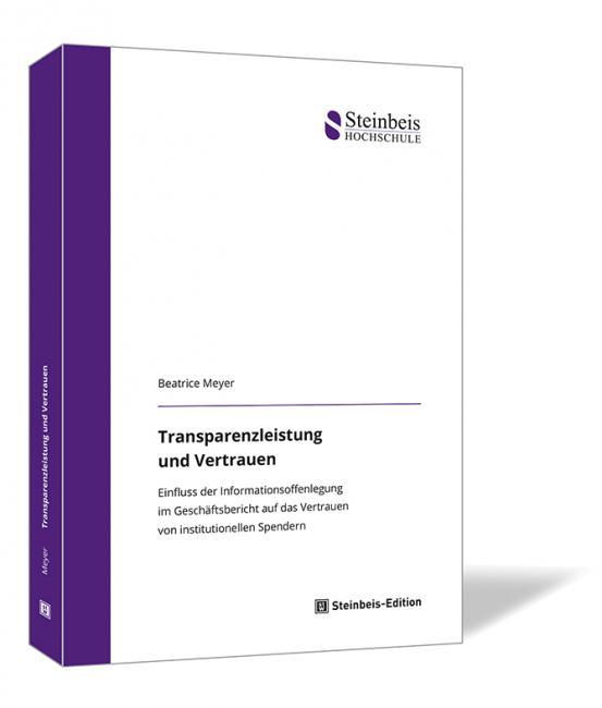 Transparenzleistung und Vertrauen