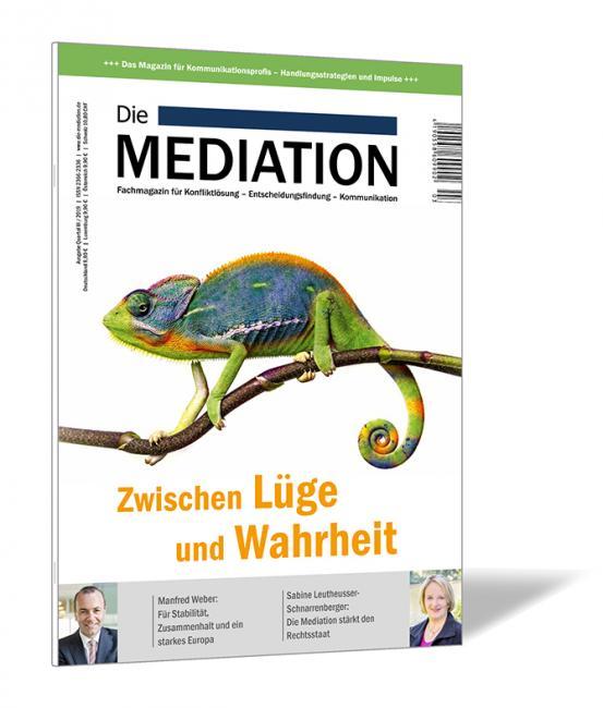 Die Mediation - Ausgabe Quartal III / 2019