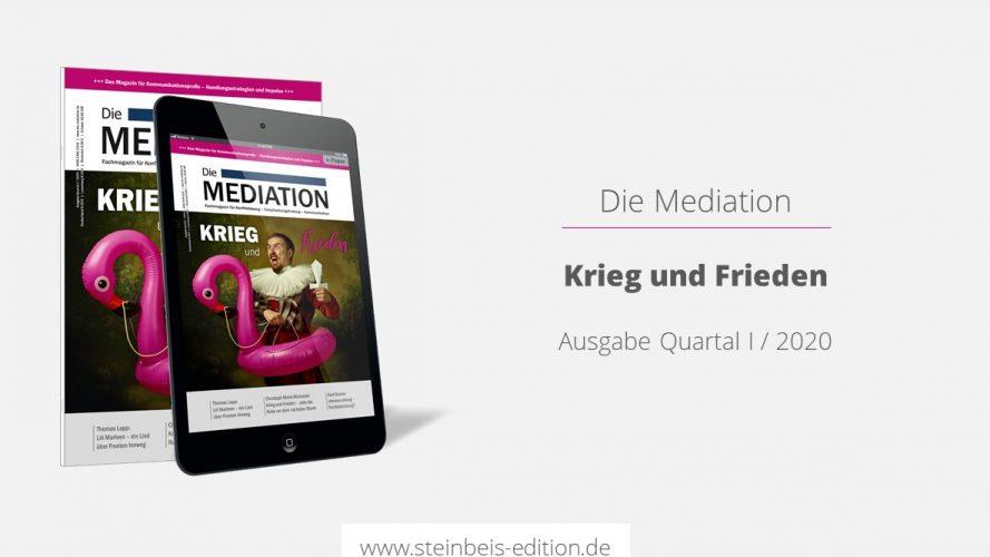 Die Mediation 1/2020 – Krieg und Frieden