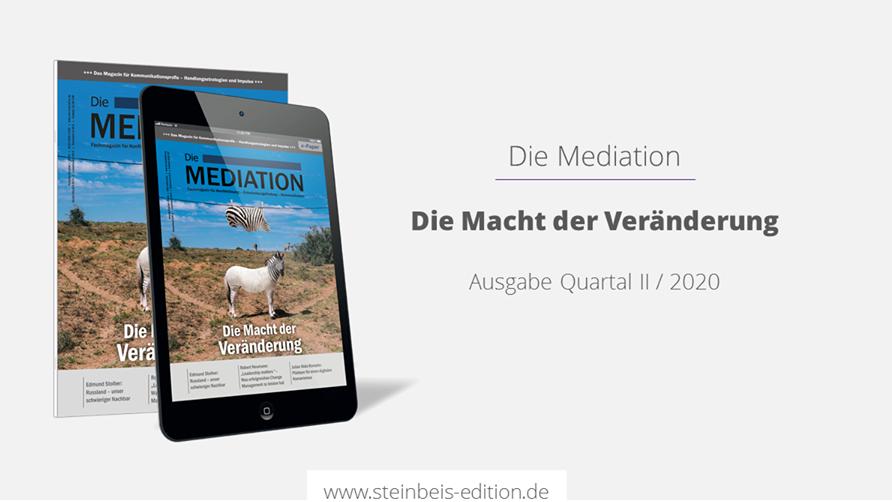 Die Mediation 1/2020 – Die Macht der Veränderung