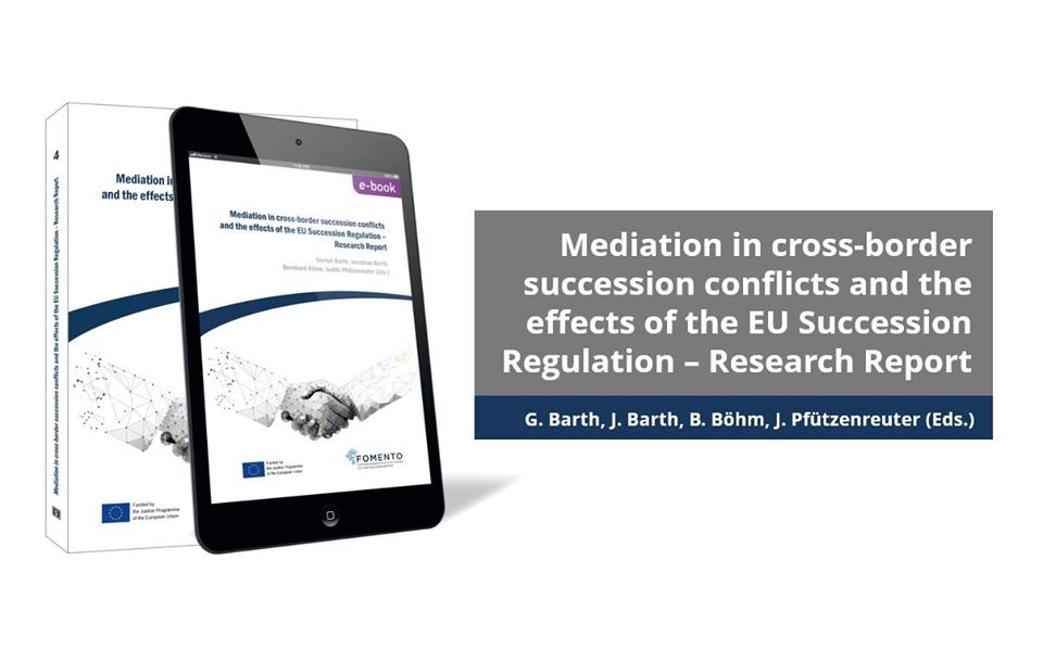 Mediation in cross-border succession conflicts