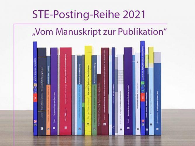 STE-Posting-Reihe: Vom Manuskript zur Publikation