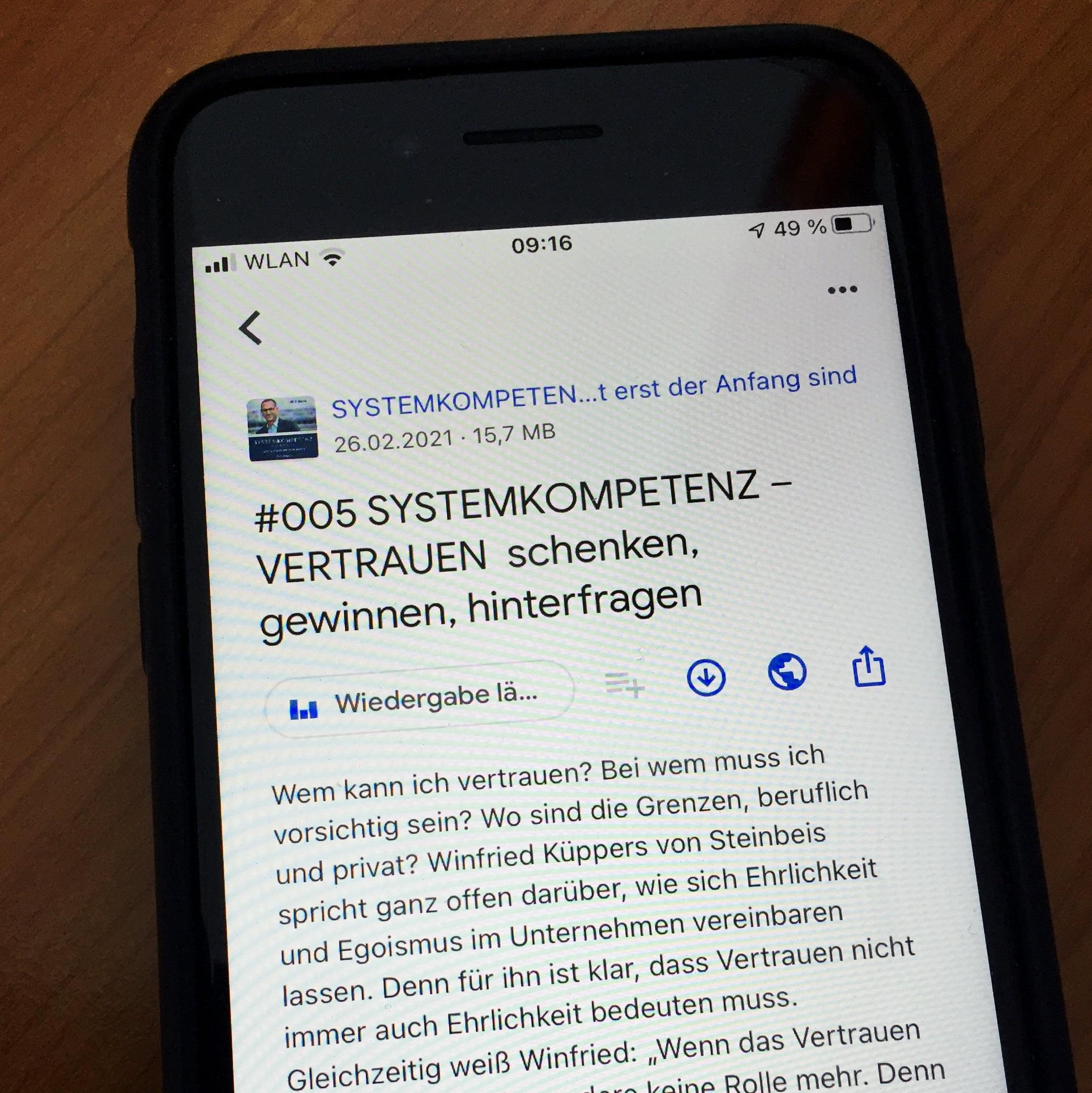 Podcast Systemkompetenz
