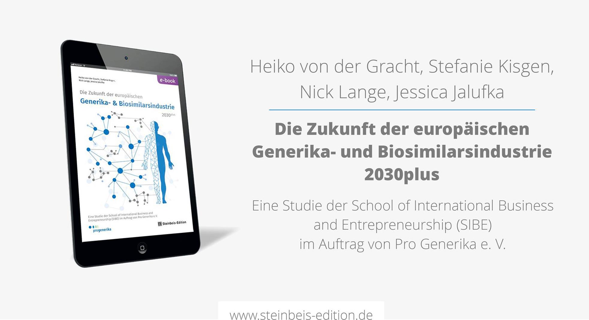 Die Zukunft der europäischen Generika- und Biosimilarsindustrie 2030plus