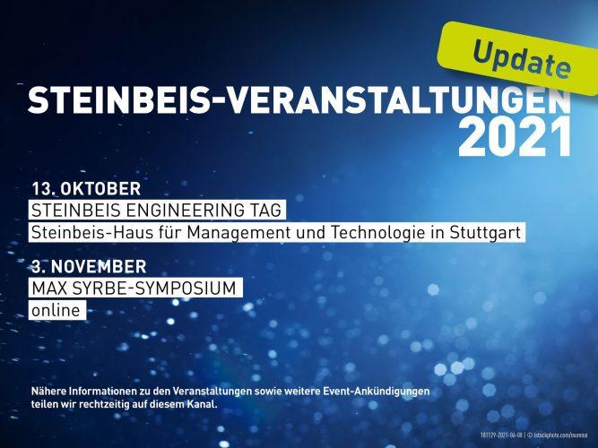 Update Steinbeis-Veranstaltungen